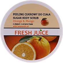 Parfums et Produits cosmétiques Gommage au sucre, orange et mangue pour corps - Fresh Juice Orange and Mango