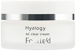 Parfums et Produits cosmétiques Crème anti-inflammatoire à l'extrait de saule pour visage - ForLLe'd Hyalogy AC Clear Cream