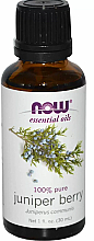 Parfums et Produits cosmétiques Huile essentielle de Baie de genièvre - Now Foods Essential Oils 100% Pure Juniper Berry