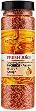 Parfums et Produits cosmétiques Perles de bain au miel et orange - Fresh Juice Bath Bijou Amber Honey and Orange