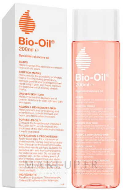Huile corporelle anti-vergetures et anti-cicatrices - Bio-Oil Specialist Skin Care Oil — Photo 200 ml
