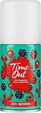 Parfums et Produits cosmétiques Shampooing sec, Baies rouges - Time Out Dry Shampoo Red Berries