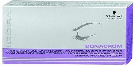 Coloration pour cils et sourcils - Schwarzkopf Professional Igora Bonacrom — Photo N2