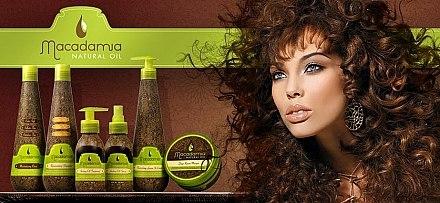 Après-shampooing sans rinçage à l'huile de macadamia - Macadamia Natural Oil Nourishing Leave-in Cream — Photo N2