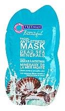 Parfums et Produits cosmétiques Masque aux minéraux de la mer Morte pour visage - Freeman Feeling Beautiful Dead Sea Minerals Anti-Stress Mask (mini)