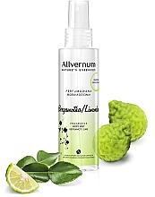 Parfums et Produits cosmétiques Brume parfumée à la bergamote et lime pour corps - Allverne Nature's Essences Body Mist