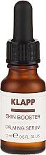 Parfums et Produits cosmétiques Sérum apaisant pour visage - Klapp Skin Booster Calming Serum