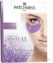 Parfums et Produits cosmétiques Patchs hydratants au collagène et extrait de lavande pour contour des yeux - Patchness Eye Patch Lavender