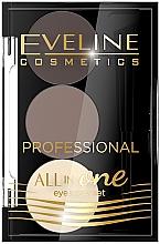 Parfums et Produits cosmétiques Kit de maquillage et coiffage des sourcils - Eveline Cosmetics All In One Eyebrow Styling Set
