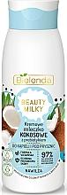 Parfums et Produits cosmétiques Lait de douche et bain à la noix de coco - Bielenda Beauty Milky Moisturizing Coconut Shower & Bath Milk