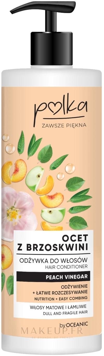 Après-shampooing au vinaigre de pêche - Polka Peach Vinegar Conditioner — Photo 400 ml