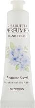 Parfums et Produits cosmétiques Crème au beurre de karité pour mains, Jasmin - Skinfood Shea Butter Perfumed Hand Cream Jasmine Scent
