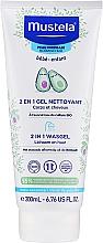 Parfums et Produits cosmétiques Gel nettoyant à l'extrait d'avocat pour corps et cheveux - Mustela Baby 2 In 1 Cleansing Gel With Avocado Hair And Body