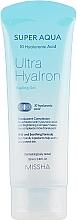 Parfums et Produits cosmétiques Gel gommant à l'acide hyaluronique pour visage - Missha Super Aqua Ultra Hyalron Peeling Gel
