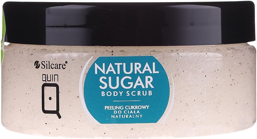 Gommage sucré naturel à l'huile de pêche pour corps - Silcare Quin Natural Sugar Body Scrub