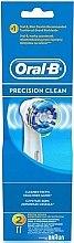 Parfums et Produits cosmétiques Têtes de remplacement pour brosse à dents électrique, 2pcs. - Oral-B Precision Clean