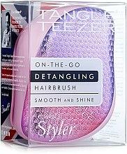 Parfums et Produits cosmétiques Brosse à cheveux compacte - Tangle Teezer Compact Styler Sunset Pink