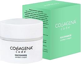 Parfums et Produits cosmétiques Crème à la niacinamide pour visage - Collagena Code Niacinamide Correct Cream