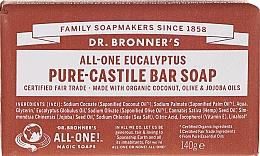Parfums et Produits cosmétiques Savon à l'huile d'eucalyptus - Dr. Bronner's Pure Castile Bar Soap Eucalyptus