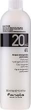 Parfums et Produits cosmétiques Émulsion oxydante 6% - Fanola Acqua Ossigenata Perfumed Hydrogen Peroxide Hair Oxidant 20vol 6%