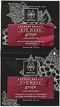 Parfums et Produits cosmétiques Masque à l'huile de pépins de raisin contour des yeux - Apivita Express Beauty Eye Mask Grape
