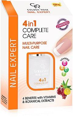 Soin 4-en-1pour des ongles - Golden Rose Nail Expert 4 in 1 Complete Care