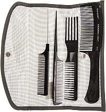 Parfums et Produits cosmétiques Set de peignes à cheveux, ST - Olivia Garden Carbon