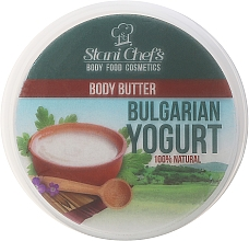 Parfums et Produits cosmétiques Beurre corporel naturel, Yaourt bulgare - Stani Chef's Bulgarian Yogurt Body Butter