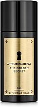 Parfums et Produits cosmétiques Antonio Banderas The Golden Secret - Déodorant