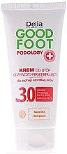Parfums et Produits cosmétiques Crème pour les pieds, peaux sèches et rugueuses - Delia Good Foot Conditioning Regenerating Foot Cream