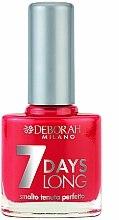 Parfums et Produits cosmétiques Vernis à ongles - Deborah 7 Days Long