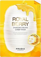 Parfums et Produits cosmétiques Masque tissu à la gelée royale pour visage - Frudia Royal Berry Dragon's Beard Candy Mask