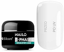 Parfums et Produits cosmétiques Gel pour ongles - Silcare Nailo 1-Phase Gel UV Sequent Clear