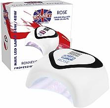 Parfums et Produits cosmétiques Lampe UV/LED - Ronney Nail Led Lamp Rose White