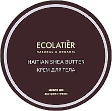 Parfums et Produits cosmétiques Crème bio au beurre de karité pour corps - Ecolatier Haitian Shea Butter Body Cream