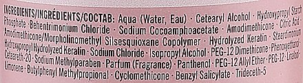 Baume lavant micellaire pour cheveux - Schwarzkopf Professional BC Bonacure Peptide Repair Rescue Micellar Cleansing Conditioner — Photo N3