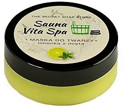 Parfums et Produits cosmétiques Masque pour visage, Lime et Menthe - The Secret Soap Store Sauna Vita Spa