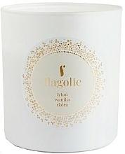 Parfums et Produits cosmétiques Bougie parfumée en jarre, Tabac et vanille - Flagolie Soy Candle