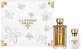 Parfums et Produits cosmétiques Prada La Femme Prada - Coffret (eau de parfum/100ml + lotion corps/100ml)