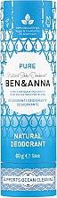 Parfums et Produits cosmétiques Déodorant stick naturel au bicarbonate de soude (tube en carton) - Ben & Anna Pure Natural Soda Deodorant Paper Tube