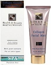 Parfums et Produits cosmétiques Masque au collagène pour visage - Health And Beauty Collagen Firming Facial Mask