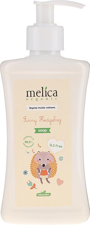 Savon liquide à l'extrait d'avoine - Melica Organic Funny Hedgehog Liquid Soap