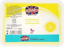 Parfums et Produits cosmétiques Paraffine au citron pour mains et pieds - Ronney Paraffin Lemon
