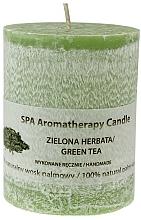 Parfums et Produits cosmétiques Bougie parfumée, Thé vert - The Secret Soap Store SPA Aromatherapy Candle Green Tea