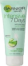 Parfums et Produits cosmétiques Crème hydratante pour les mains - Garnier 7 Days Hydration Moisturizing Hand Cream