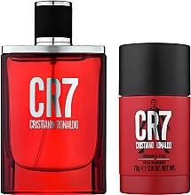 Parfums et Produits cosmétiques Cristiano Ronaldo CR7 - Set pour homme (eau de toilette/50ml + déodorant stick/75g)