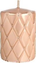 Parfums et Produits cosmétiques Bougie décorative 7x10 cm, or rose - Artman Florence Candle