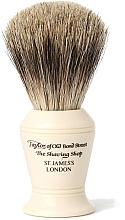 Parfums et Produits cosmétiques Blaireau de rasage, P374 - Taylor of Old Bond Street Shaving Brush Pure Badger size S