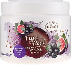 Parfums et Produits cosmétiques Masque à l'extrait de figue et açaï pour cheveux - Ovoc Figa & Acai Mask
