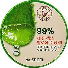 Parfums et Produits cosmétiques Gel apaisant à l'aloe vera 99%, visage et corps - The Saem Jeju Fresh Aloe Soothing Gel 99%